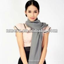 Garantir ceia pura lã pura mulher cachecol-SWW384-G