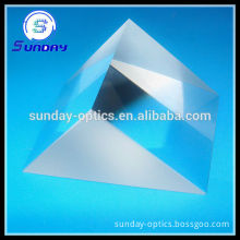 Optical galss right angle prism with external aluminum coating