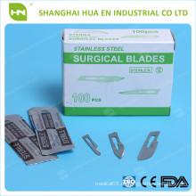 Einweg-scharfe chirurgische Klinge in China CE ISO FDA