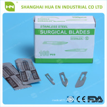 Hoja quirúrgica afilada desechable hecha en China CE ISO FDA