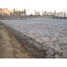Wire Gabion Mesh (Stone Cage Mesh) manufacture