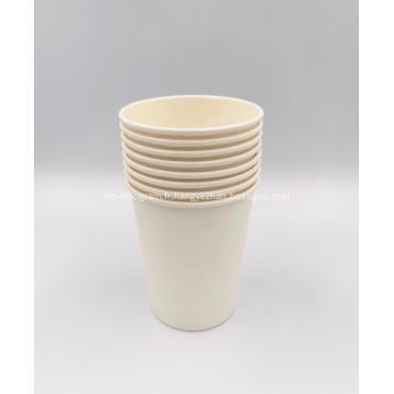 Gobelet en papier de fécule de maïs PLA pour boisson froide et chaude