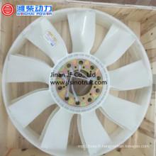 612600060121 612600060886 612600061046 Lame de ventilateur Weichai