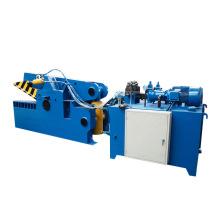 Machine de cisaillement automatique de ferraille de tuyau d'acier de tube en aluminium
