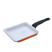 Sartén cuadrado de aluminio antiadherente para utensilios de cocina