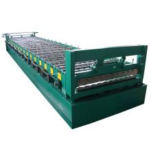 Venta caliente de perfil personalizado de acero máquina de hoja de techo