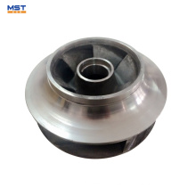 Stainless steel design centrifugal pump impeller