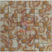 Irregular Line Pattern Glass Mosaic (CFC573)
