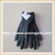 Winter outdoor cold-proof men's thermal polar fleece gloves