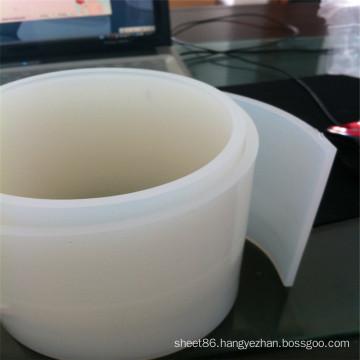 Transparent White Silicone Rubber Strip