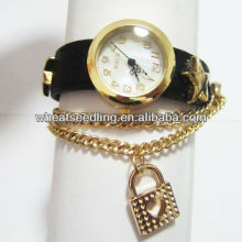 2013 Latest Leather Bracelet Jewelry Watches For Woman WW27