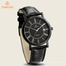 Relógio de quartzo de alta qualidade, couro relógio 72437