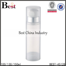 150ml transparent acrylic lotion airless bottle,150ml lotion airless bottle for cosmetic
