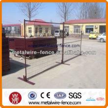 Usado canada temporal valla / paneles temporales de valla de Canadá / paneles de valla temporales venta caliente