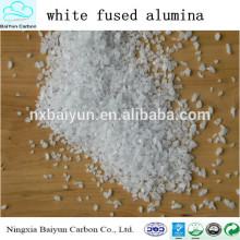 2014 завод продажа Белый плавленого глинозема для абразивных материалов