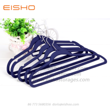 EISHO ABS Rubber Coating Plastic Coat Hangers