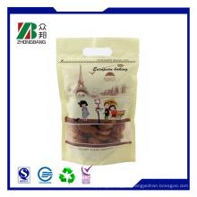 Stehe Plastik weiche Snack Food Packing mit Zip
