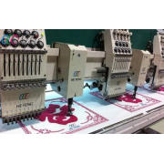 Computer Chenille Embroidery Machine / 12 Head Commercial E