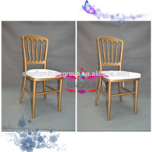 event rental wood church chair