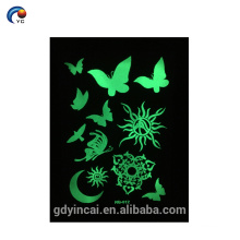 Eco-friendly tattoo ink, custom tattoo design temporary tattoo sticker(fluorescence series)