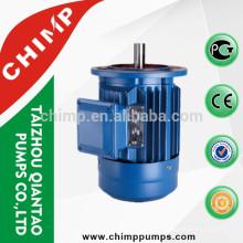 Motor elétrico assíncrono da embalagem do ferro fundido da série 0.55kW 1500rpm 380V 415V do CHIMPY