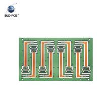 Silkscreen branco HAL PWB rígido do cabo flexível de quatro camadas, PWB automotivo para sistemas de controlo do motor