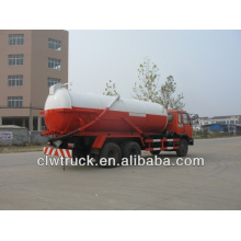 dongfeng 15000-16000L high pressure vacuum suction truck