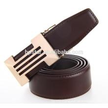 Fashion Coffee Color Fine Buckle Belt Fomal Genuine Leather Belt For Business Men/cintos de couro cinto de couro para homens
