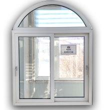 Конструкция винилового раздвижного окна с левым приводом