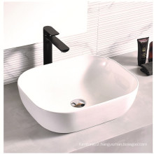 Rectangle Countertop Wash Basin For Bathroom