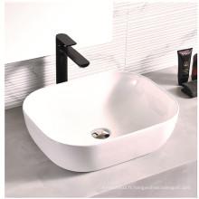 Lavabo à poser rectangulaire pour salle de bain