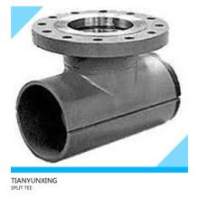 Wphy52 Carbon Steel Pipe Fittings Split T-Stück mit Flansch