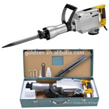 65mm 1520w Mini Démolition Breaker Hammer Hand Held Portable Electric Power Breaker Breaker