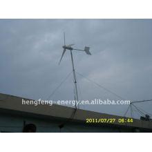 Gerador de turbina do vento 3kw baixa RPM, moinho de vento de força total usado para terra e turbina de vento Horizontal, marinho 3 lâminas