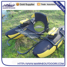 Aluminum frame inflatable float Tube Pontoon Boat for fishing