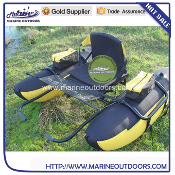 Aluminum frame inflatable float Tube Pontoon Boat for fishing