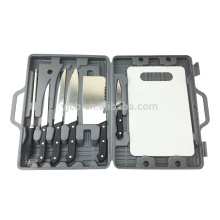 BBQ Camp Plastic case 7pcs cooking knife set