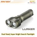 Maxtoch DX21 1100 Lumen 1 * 26650 Li-Ion Akku Long Distance 2 * XML2 U2 CREE LED Bright Light Taschenlampe