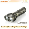 Maxtoch DX21 1100 Lumens 1 * 26650 Li-ion batterie longue Distance 2 * XML2 U2 crie LED Bright torche lampe