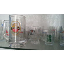 Print Drinking Ware Advertising Verres en verre Verrerie Kb-Hn0598