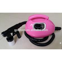 Home Cama de bronceado pequeño Equipo de pulverización portátil de Tan Profesional Airbrush Mini HVLP Tanning Machine Spray Gun
