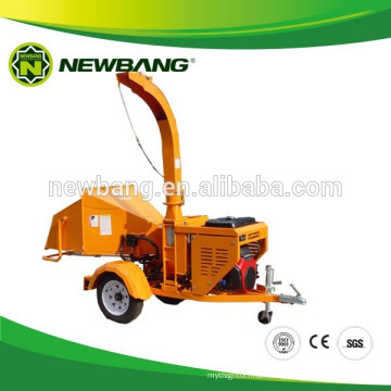 Trailer Mounted Wood Chipper