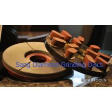 Plaques de meulage à résine diamantée de haute qualité (SA-080)