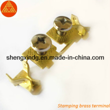 Copper Brass Electric Terminal Stamping Parts (SX052)