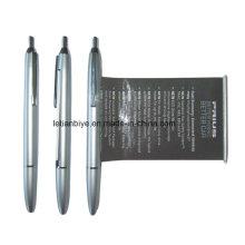 High Quality Metallic Looking Calendar Banner Pen (LT-C090)