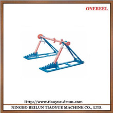 Cable drum lifting stand