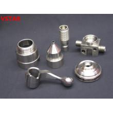 Pieza mecánica de alta precisión con mecanizado CNC
