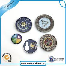 Kundenspezifisches Design Werbe Magnet Metall Logo Anstecknadel Abzeichen