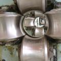 Metal steel high frequency welded pipe making machine