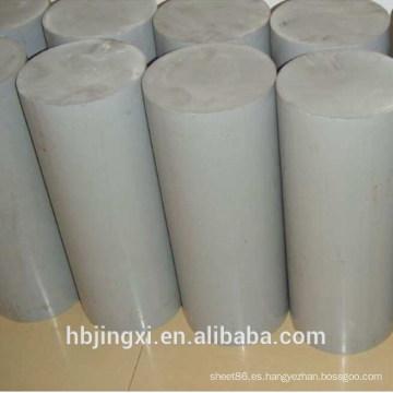 Hoja / tablero / varilla plástica rígida gris del PVC